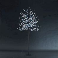 See more information about the 200cm (6 Feet 6 Inch) Multicoloured Outdoor Cherry 320 Bulb LED Tree