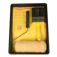 See more information about the Masonry Paint Roller & Brush Set