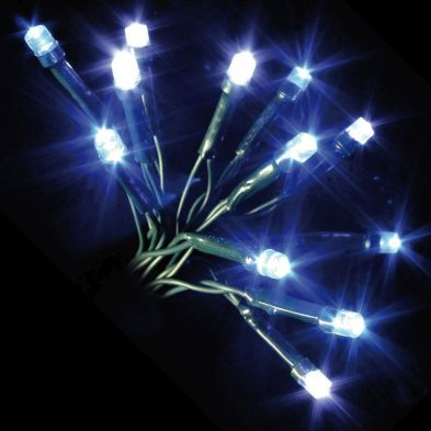 100 LED Blue & White Outdoor Multifunction Christmas Lights