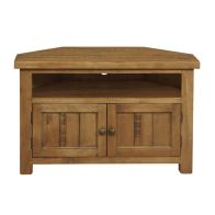 See more information about the Rustic Oak Corner TV Unit
