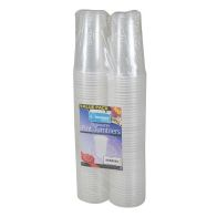See more information about the Kingfisher 1 Pint Clear Disposable Plastic Tumblers (100 Pack)