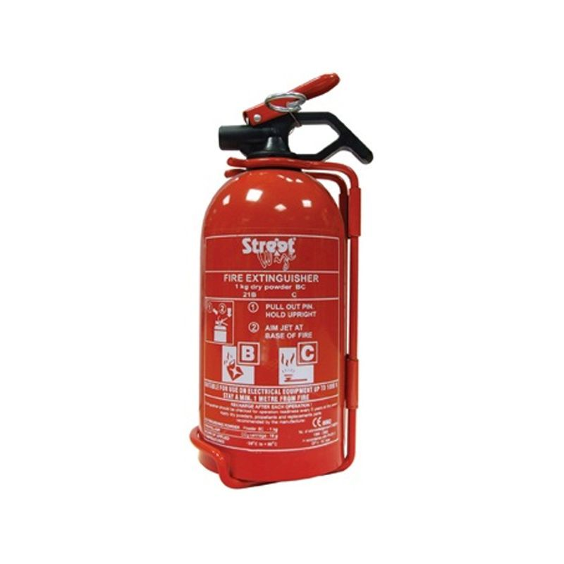 Streetwize Dry Powder Fire Extinguisher (1kg)