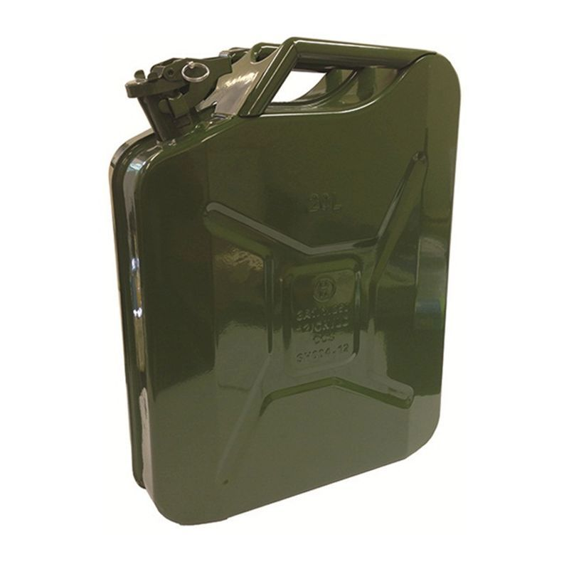 Streetwize Metal Jerry Can (20 Litre)