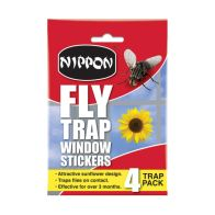 See more information about the Nippon Window Fly Trap 4 Pack