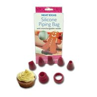 See more information about the Silicone Icing Bag with Nozzles