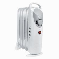 See more information about the Daewoo 650 Watt Mini Oil Filled Radiator Portable Heater
