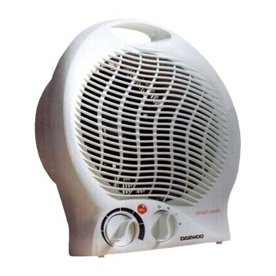 Image of Daewoo Upright 2000 Watt Fan Heater With Thermostat Control