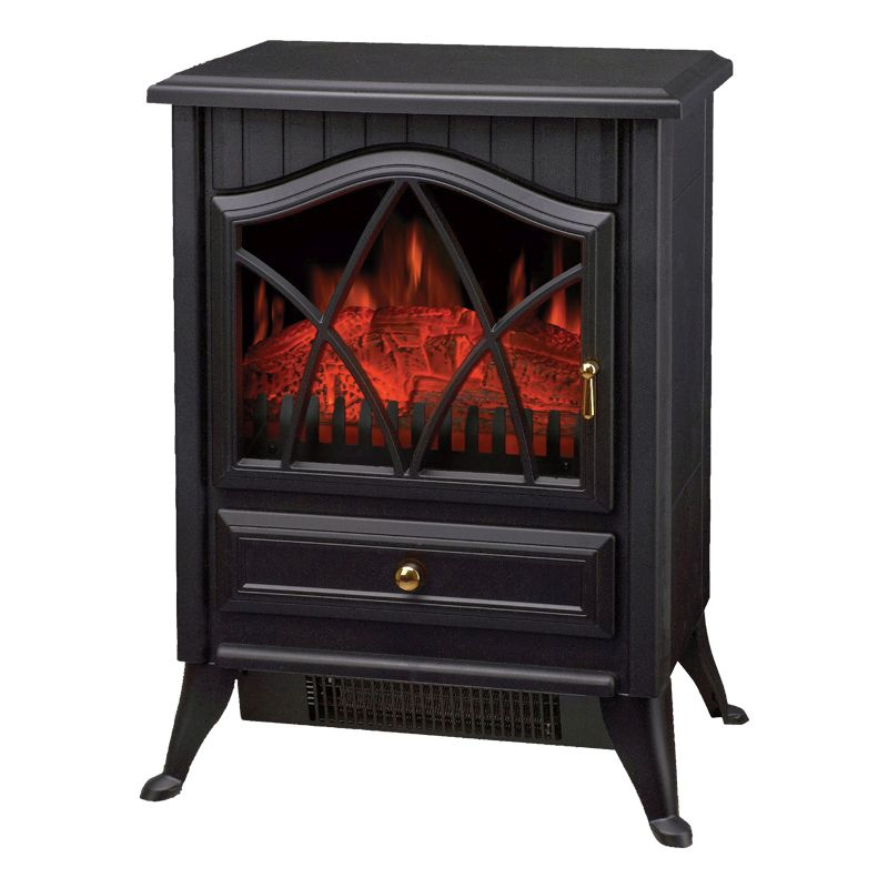 Electric Heater Small Stove Effect Black Buy Online At