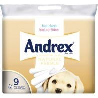 See more information about the Andrex 9 Roll Natural