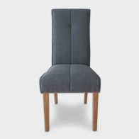See more information about the Milan Dining Chair Slate Blue