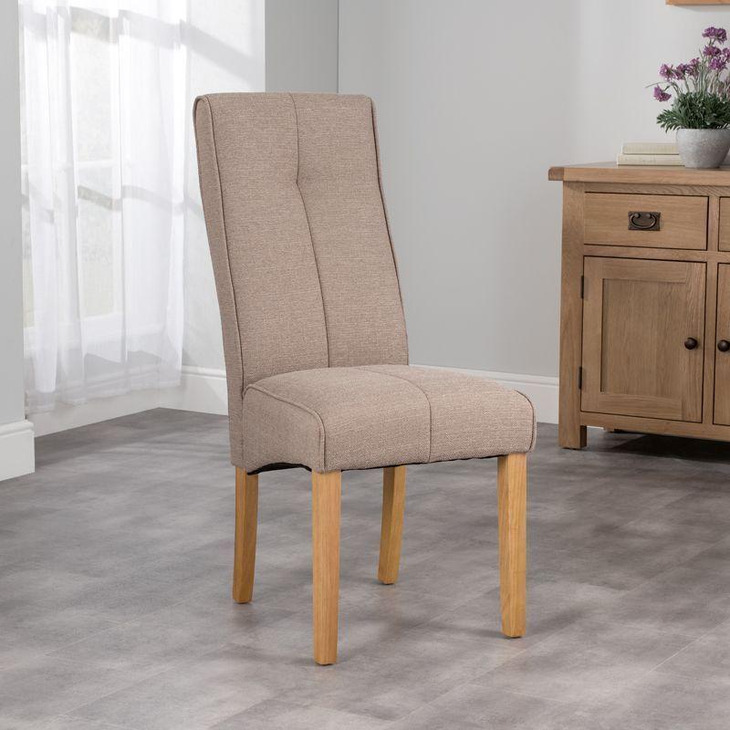 Milan Dining Chair Brown