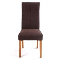 See more information about the Milan Chocolate Brown Dining Chair