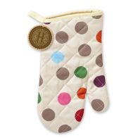 See more information about the Polka Dot Gauntlet Oven Glove