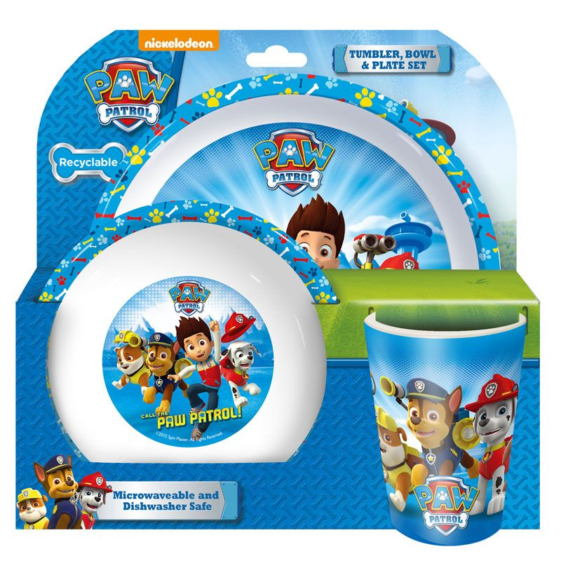 Paw Patrol Kids Dinner Set