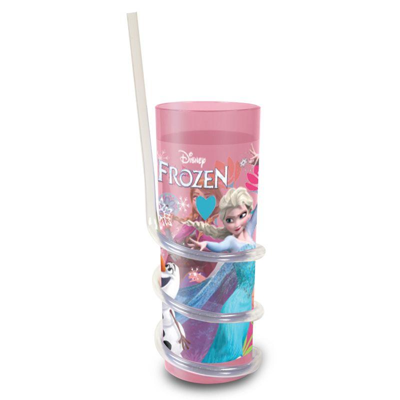 Disney Frozen Twisty Straw Tumbler Buy Online At Qd Stores