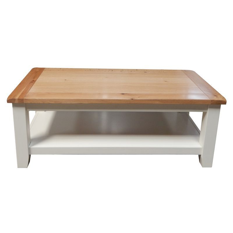 oak coffee table cream deal at qdstores offer calendar. Black Bedroom Furniture Sets. Home Design Ideas