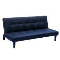 See more information about the 3 Seater Black PU Sofa Bed