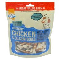 See more information about the 350g Good Boy Pawsley & Co. Crunchy Chicken & Calcium Bones