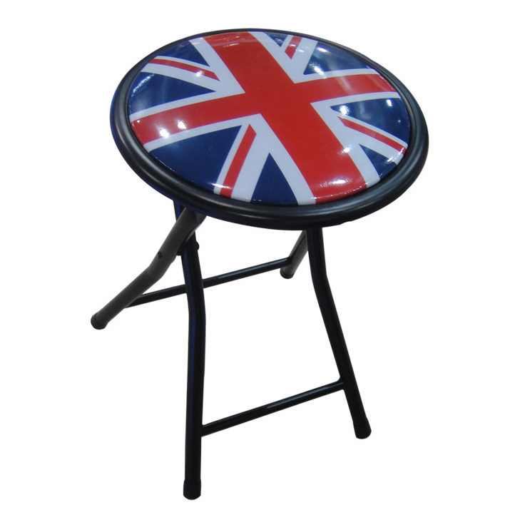See more information about the Printed Folding Stool - Union Jack Design