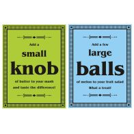 See more information about the Melon Balls Velour Cotton Tea Towels 2 Pack