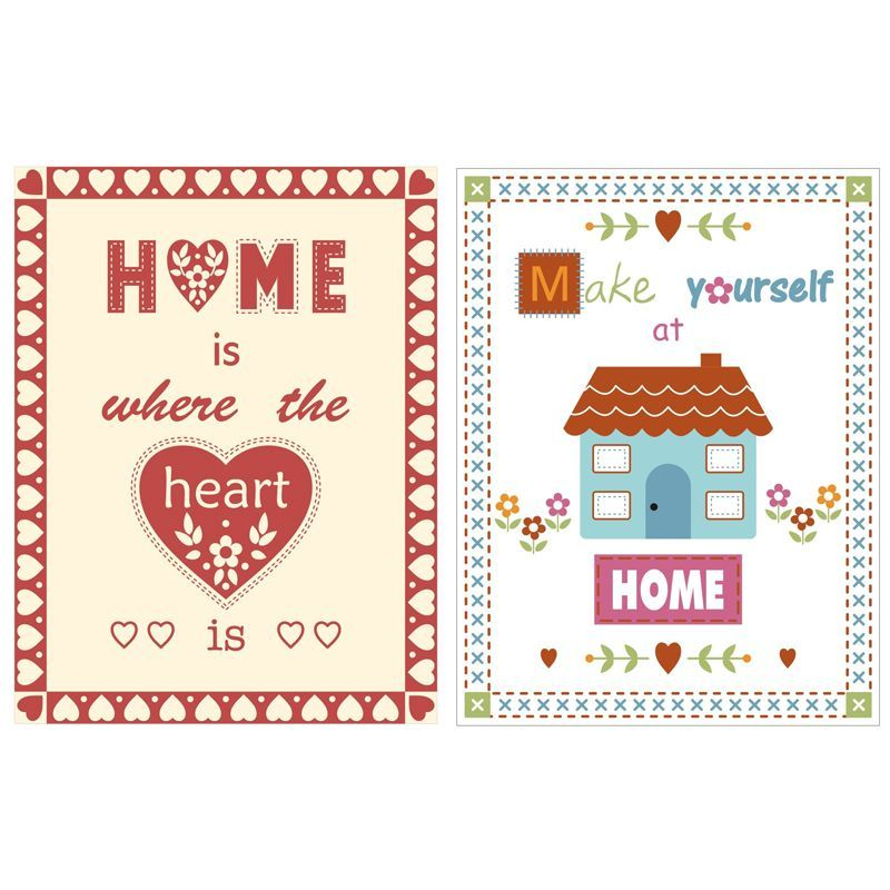 Home Velour Cotton Tea Towels 2 Pack
