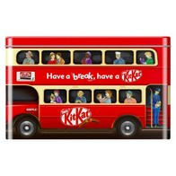 See more information about the Kit Kat Bus Tin Nestle 326g