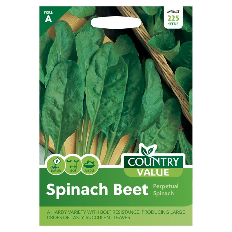 Country Value Spinach Beet Perpetual Seeds