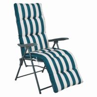 See more information about the Sunningdale Outdoor Garden Relaxing Lounger