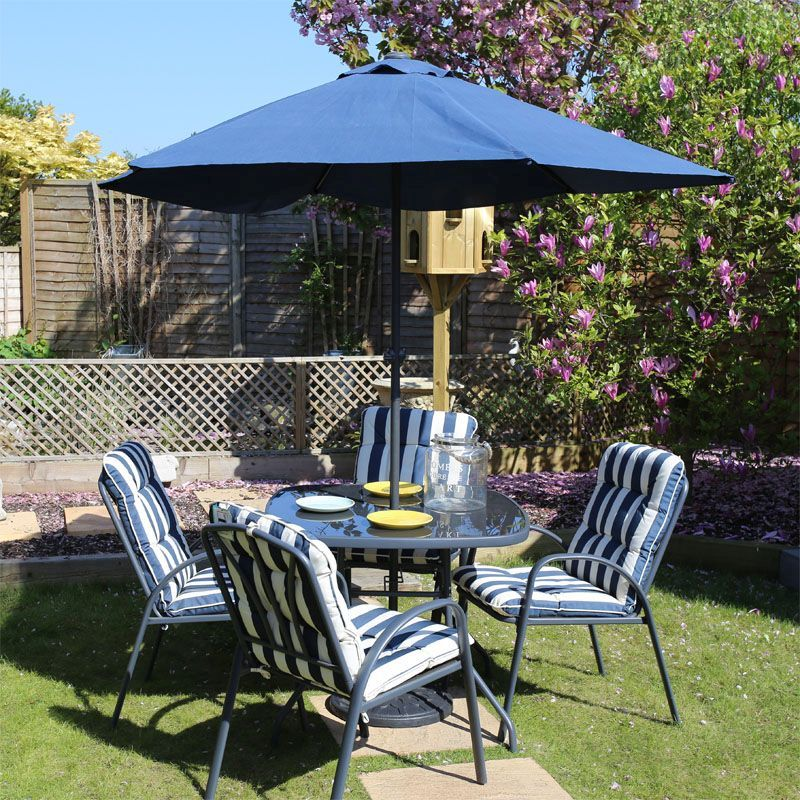 Garden Furniture Qd 6 piece garden furniture dining set fulshaw - buy online at qd stores