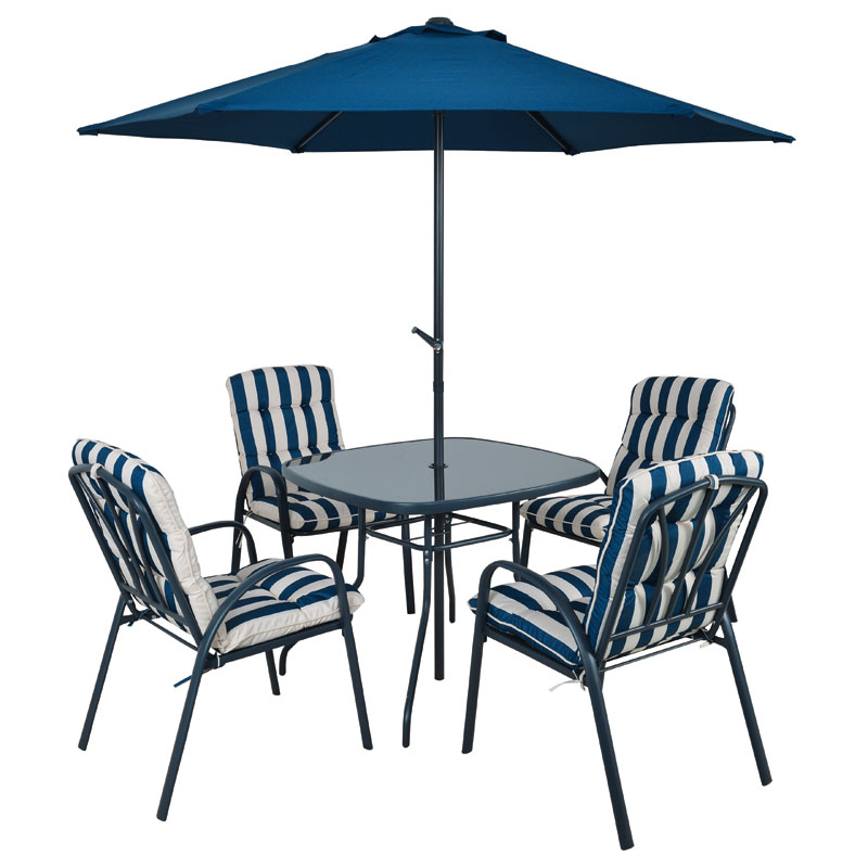 Additional Product Image. 6 Piece Garden Furniture Dining Set Fulshaw   Buy Online at QD Stores