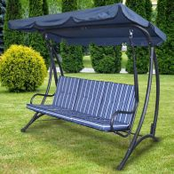 See more information about the Fraser 3 Seater Garden Swing Chair