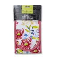 See more information about the Cooksmart Oven Glove Double Floral Romance