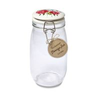 See more information about the Cooksmart Storage Jar Floral 1.5 Litre