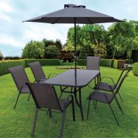 See more information about the Montagu 8 Piece Garden Dining Set