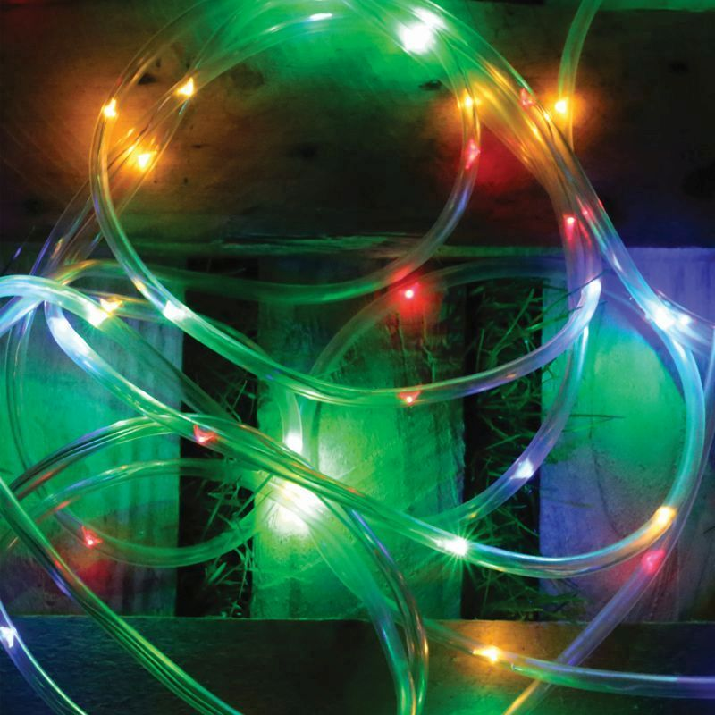 Solar Rope Light 5 Metre (Multi-Coloured)
