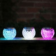 See more information about the Crystal Table Solar Light (Blue)