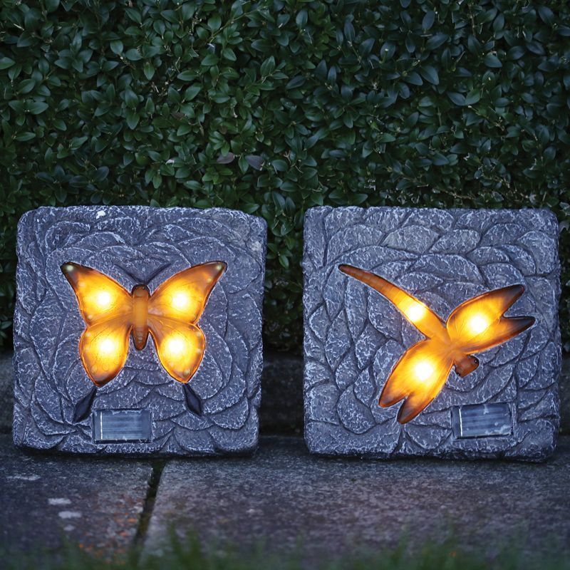 Solar Stepping Stone Light (Butterfly)