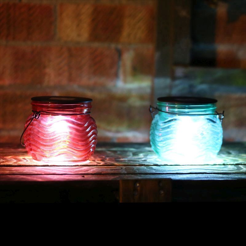 Solar Table Lights (Red)