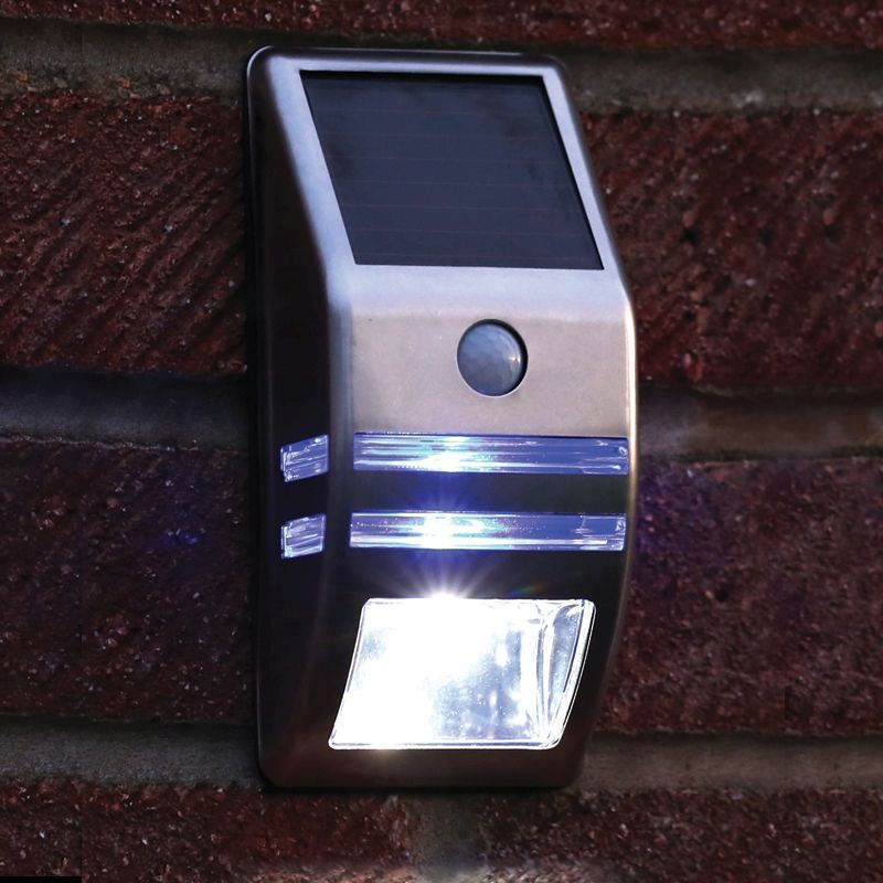 Motion Sensor Solar Security LED Light