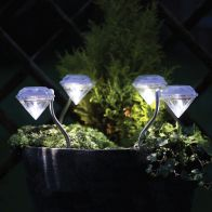 See more information about the 4 Pack Diamond Solar Light