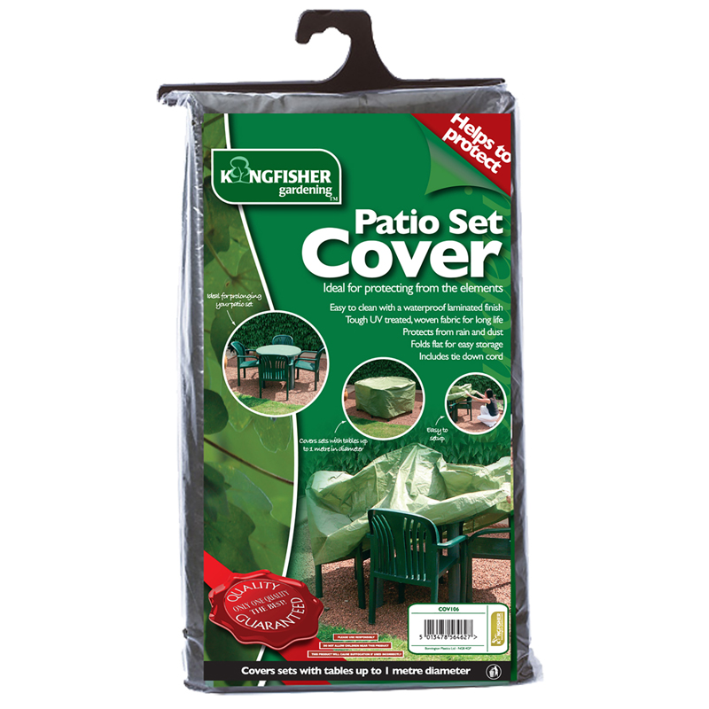Patio Set Cover Weatherproof Buy line at QD Stores