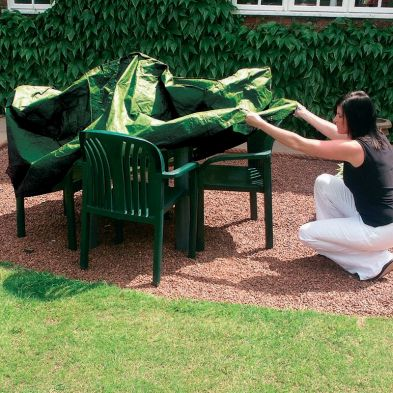 Rectangular Outdoor Furniture Set Cover