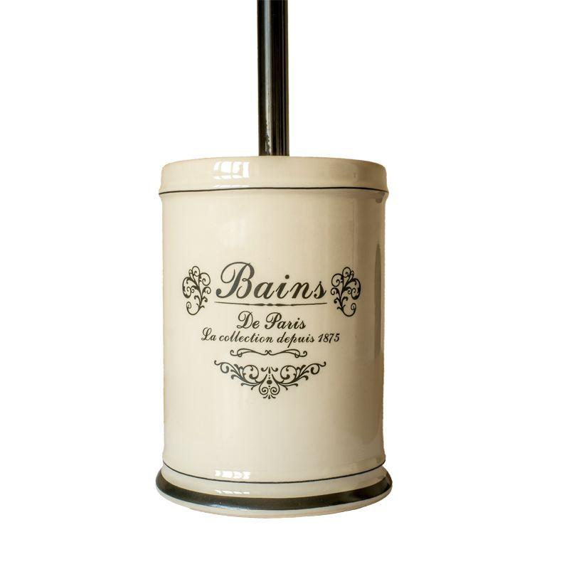 vintage series ceramic toilet brush holder buy at