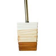 See more information about the Un Glazed Stoneware Fine Clay Toilet Brush Holder