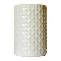 See more information about the Embossed Ceramic Glazed Toothbrush Holder