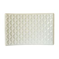 See more information about the Embossed Ceramic Glazed Soap Dish