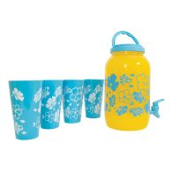 See more information about the 5 Piece Sun Tea Jar (3.78 Litre) - Blue