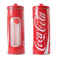 See more information about the Embossed Coca Cola Straw Holder