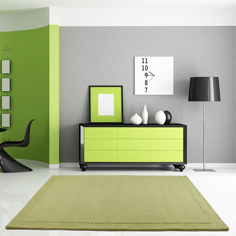 Rug Structure Sevilla Lime (120 x 160 cm)