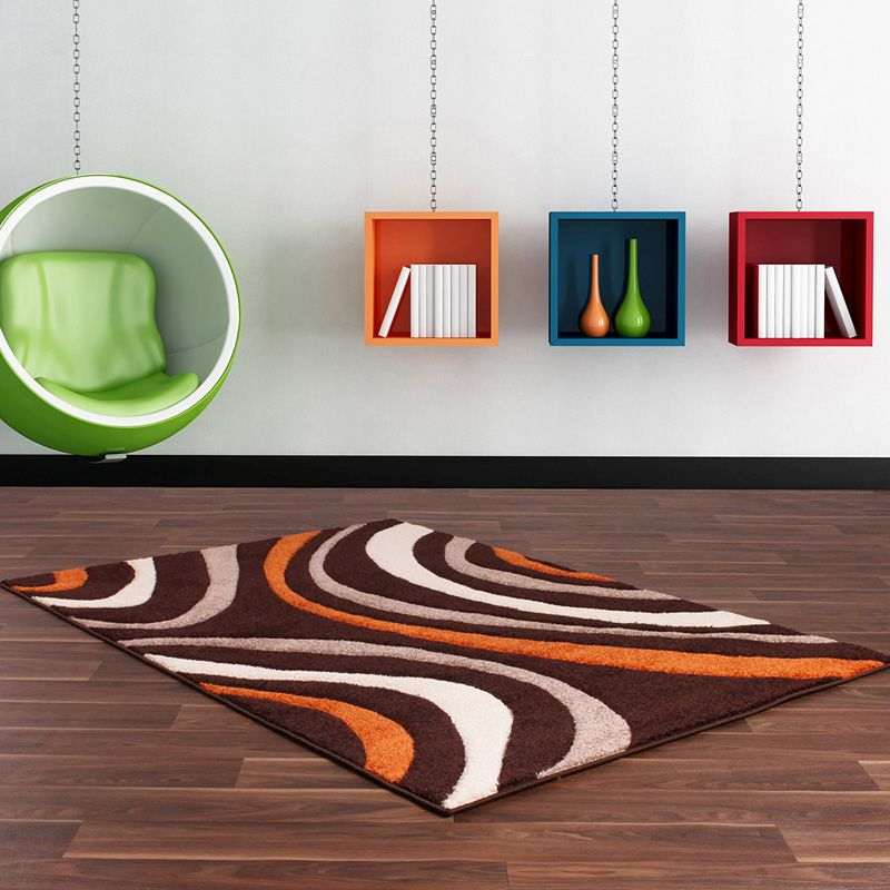 Rug Rapello Canyon Brown & Orange (75 x 150 cm)